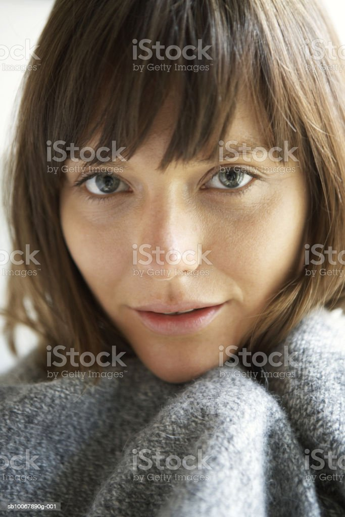 Young woman, close-up, portrait royalty-free stock photo