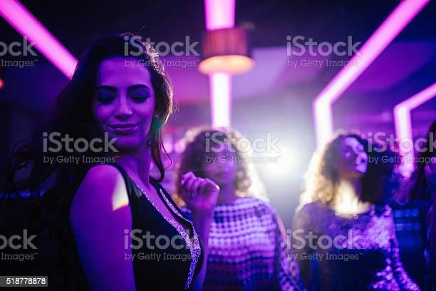 Young woman enjoying dancing with friends in a night club picture id518778878?b=1&k=6&m=518778878&s=612x612&h=hepmemwjvidkqjuxxl itcp9zg5vhobgqq8fg r9yqu=
