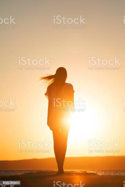 Photo of Young woman enjoying freedom
