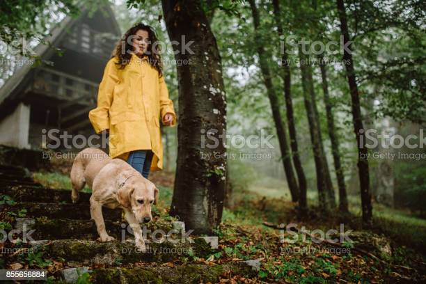 Young woman enjoying rainy day with her dog picture id855656884?b=1&k=6&m=855656884&s=612x612&h=zn0l9 mr4yo3ntifowmdftpmczflcpf22cpj 01kx88=