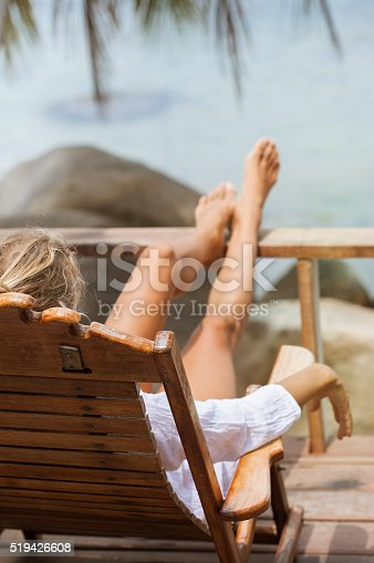 538041934 istock photo Young woman enjoys in morning 519426608