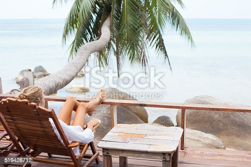 538041934 istock photo Young woman enjoys in morning 519426712