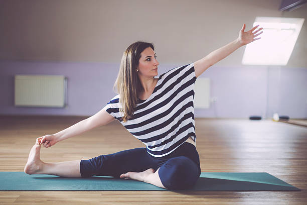 Best Hot Yoga Stock Photos Pictures Amp Royalty Free Images