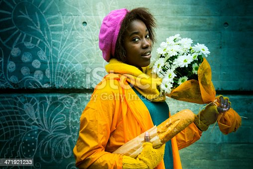 istock Young woman following her dreams 471921233