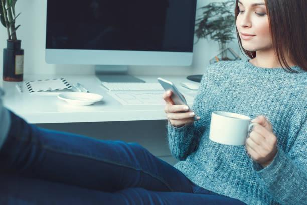 Young woman freelancer indoors home office concept casual style tea picture id1171612995?b=1&k=6&m=1171612995&s=612x612&w=0&h=rlqy0zcfonwzpf1pb faqzmiao5qstr5qekxgkgtvli=