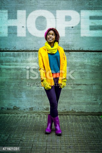 istock Young woman full of hope 471921231