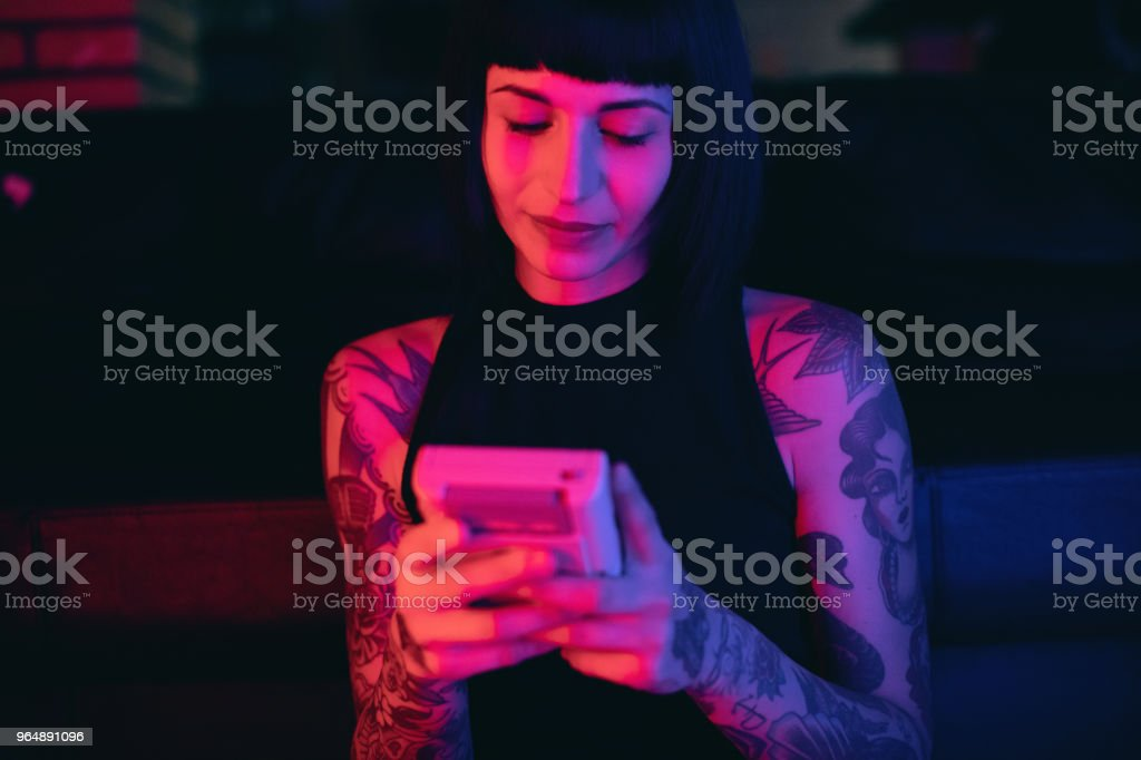 Young Woman Gamer royalty-free stock photo