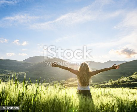 istock young woman having a fresh morning outdoor 501295459
