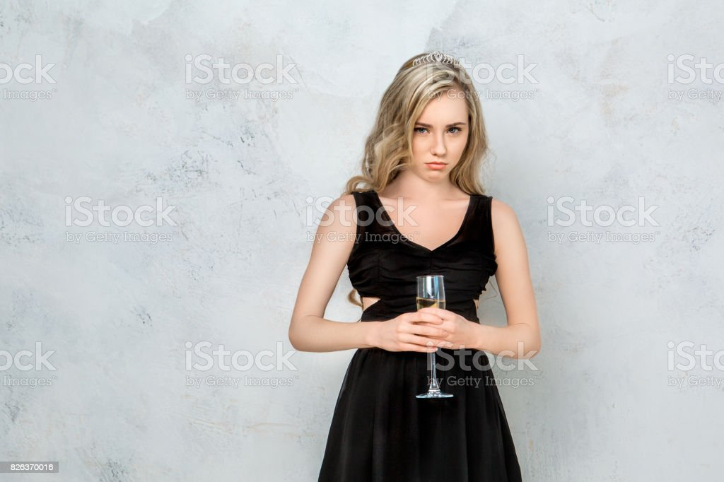 Young woman hen party celeration isolated on white stock photo
