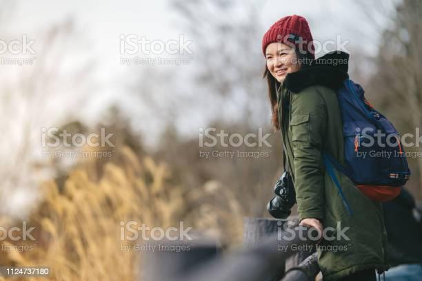 Young woman hiking in mountain in winter picture id1124737180?b=1&k=6&m=1124737180&s=612x612&h=unu49wmsoql0yffo5p4gkedezpzv7t3vb4x8e1yuula=