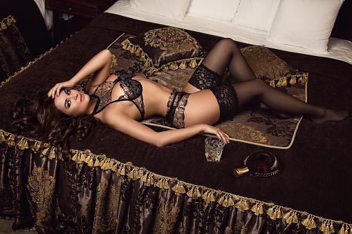 Pleasure, seduction, woman, mood
