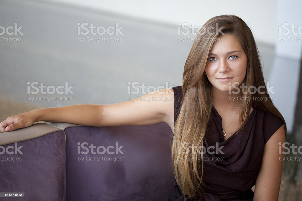 Young Woman in Business Casual royalty-free stock photo