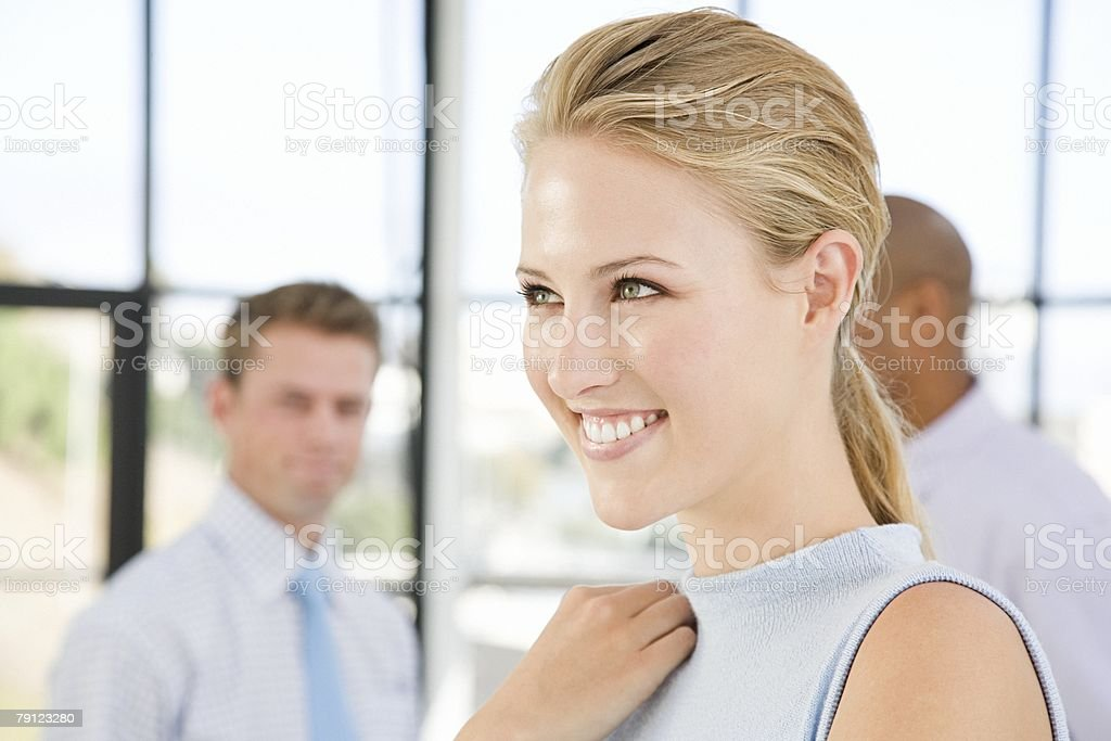 젊은 여자 office royalty-free 스톡 사진