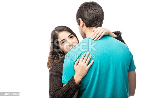 istock Young woman in unhappy relationship 640233366