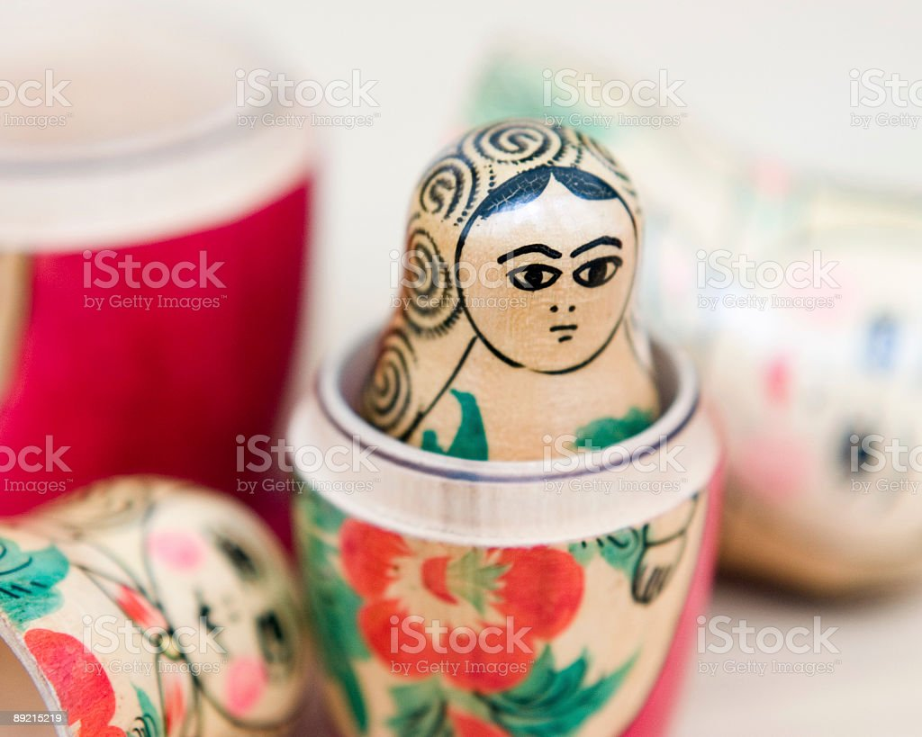 young woman inside royalty-free stock photo