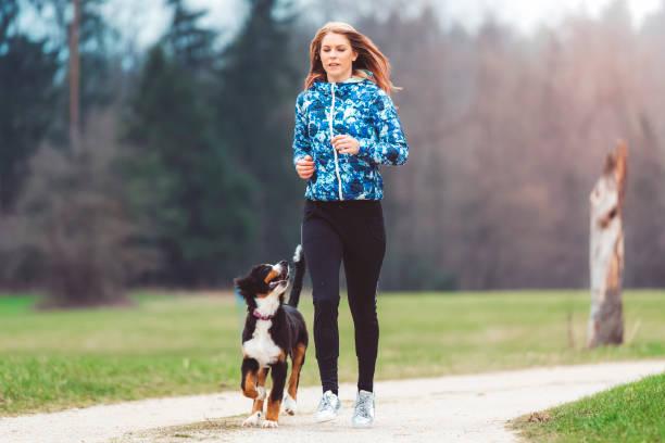 Young woman jogging with dog picture id670041112?b=1&k=6&m=670041112&s=612x612&w=0&h=qw62cjzqpdkzyxloq1 aaeczzbvksgj3vul2zpqcen8=