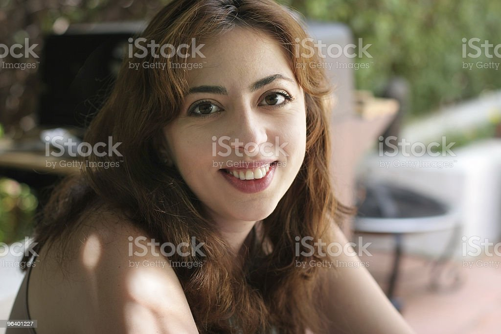 Young woman laughing - Royalty-free Adult Stock Photo