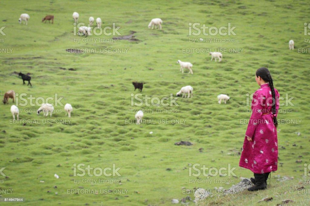 Model Hooker in Mongolia