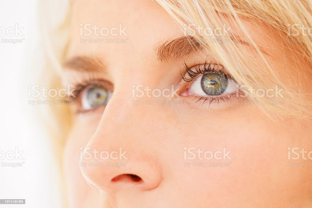 Young woman looking away royalty-free stock photo