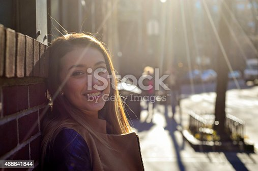 Young Woman Looking Into The Camera Stock Photo & More Pictures of 2015