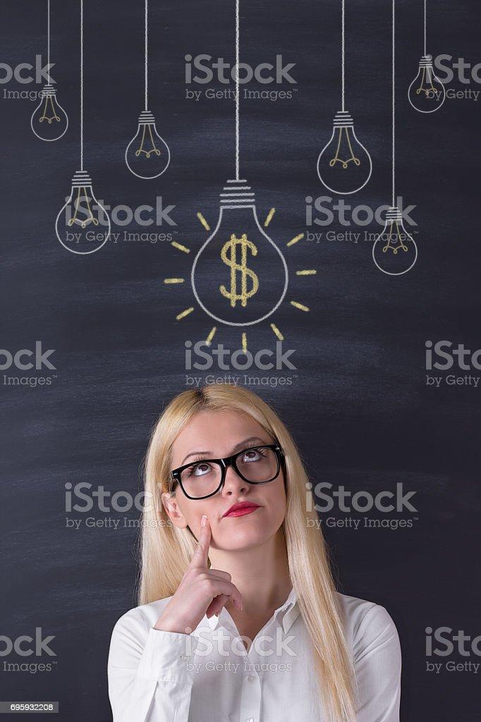 fille cherche argent