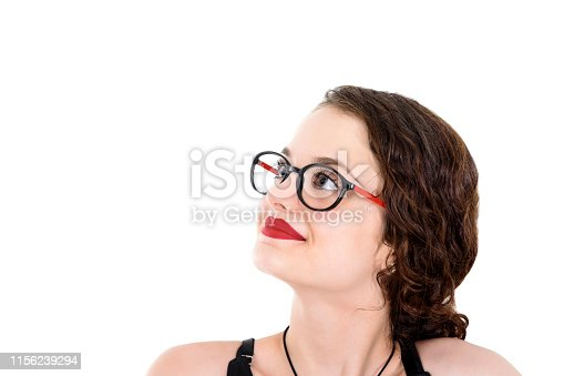 618976144istockphoto Young woman looking up 1156239294