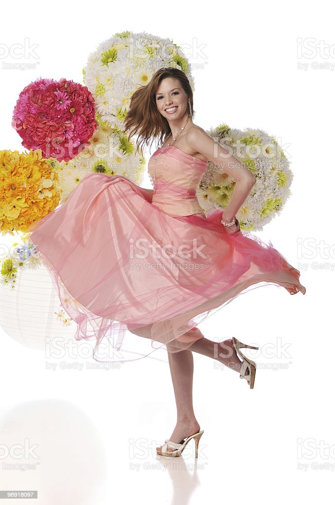 Young woman modeling royalty-free stock photo