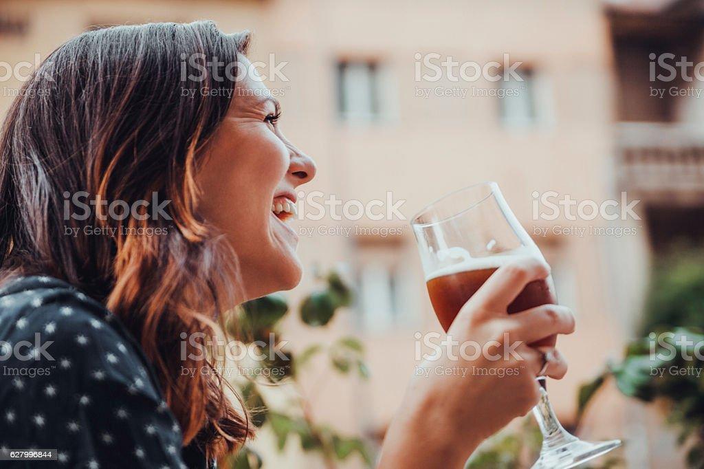 Junge Frau  – Foto