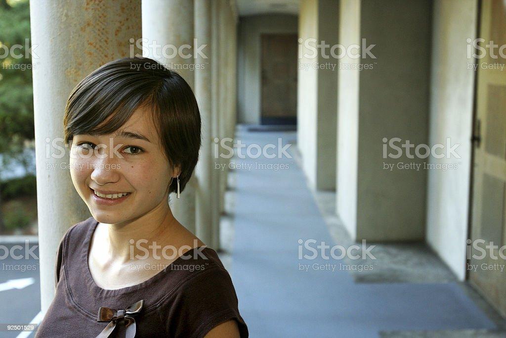 Junge Frau Lizenzfreies stock-foto