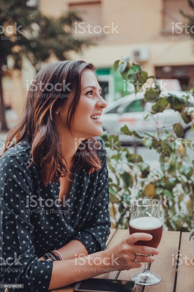 A Young Woman stock photo