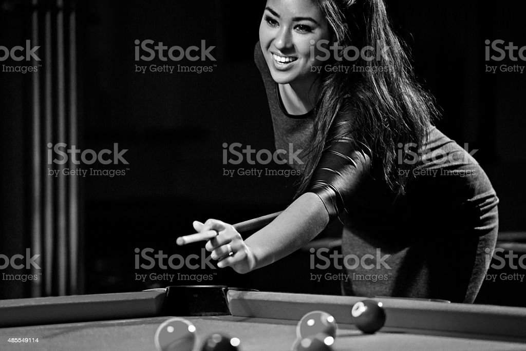 Sex on a pool table Nude Photos 85