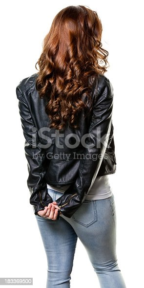 istock Young Woman Portrait 183369500
