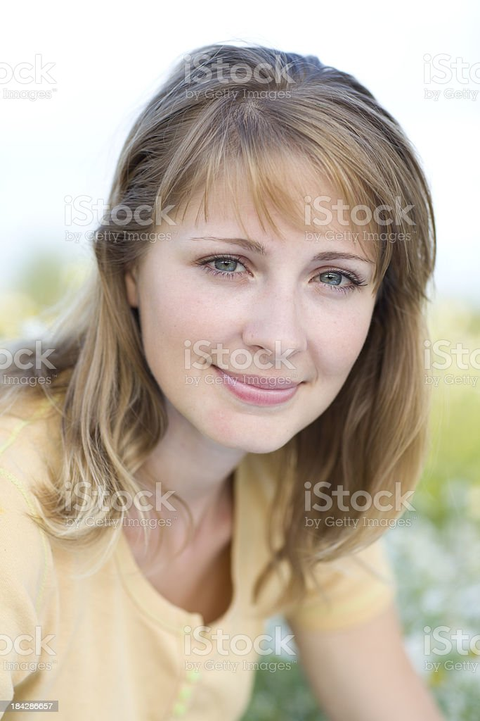 Junge Frau Porträt – Foto