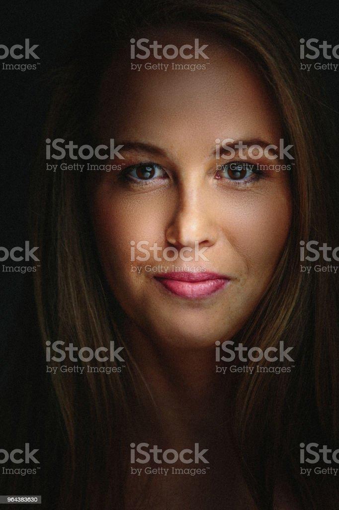 Portret van de jonge vrouw - Royalty-free 20-29 jaar Stockfoto