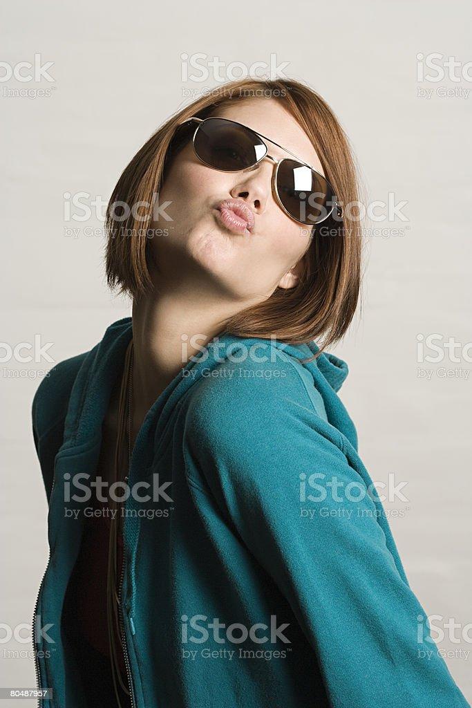 Young woman posing 免版稅 stock photo