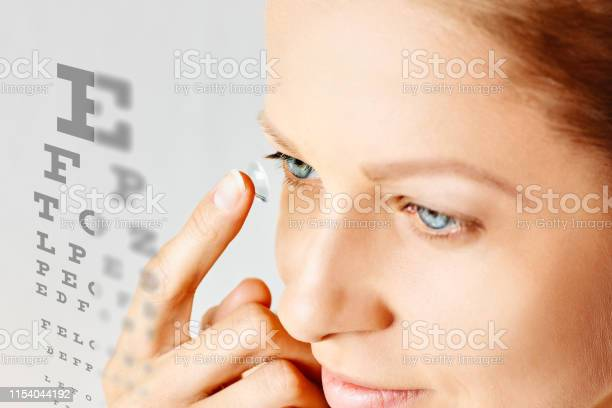 Young woman puts contact lens in her eye picture id1154044192?b=1&k=6&m=1154044192&s=612x612&h=ed0zqdanlj11tuffyq6qkvkpqykkp wscgc0yqrgrbe=