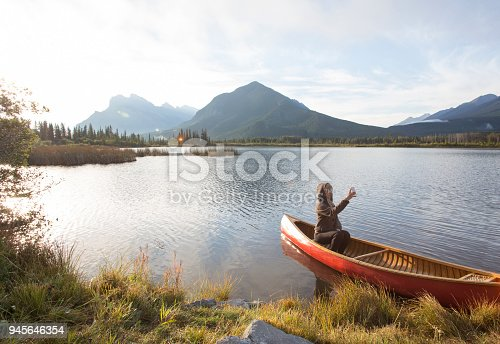 canoeing the mountains