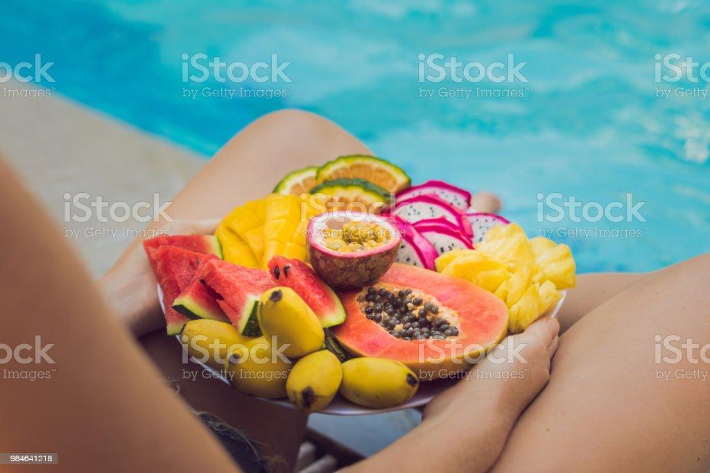 Essen für die Sommerdiät