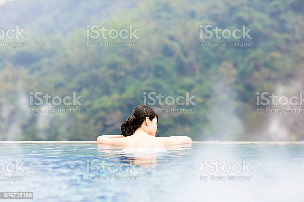 Young woman relaxing in hot springs picture id629735158?b=1&k=6&m=629735158&s=612x612&h= qtbwnerbc0mcdekwpaxtdxoq 7p78hgxbydpw00prm=