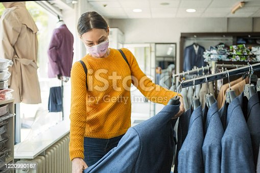 Shopping at the time of virus