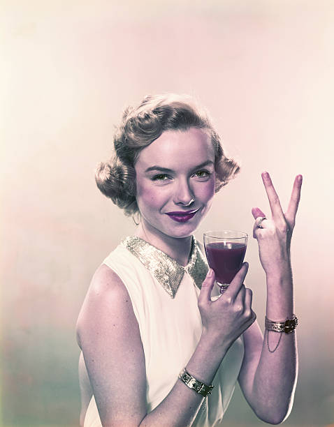 Young woman showing v sign with wine glass smiling portrait picture id120427140?b=1&k=6&m=120427140&s=612x612&w=0&h=cvdnqwlx2370ky 2idioctbmlauhcvcif7oj7c8v0vo=