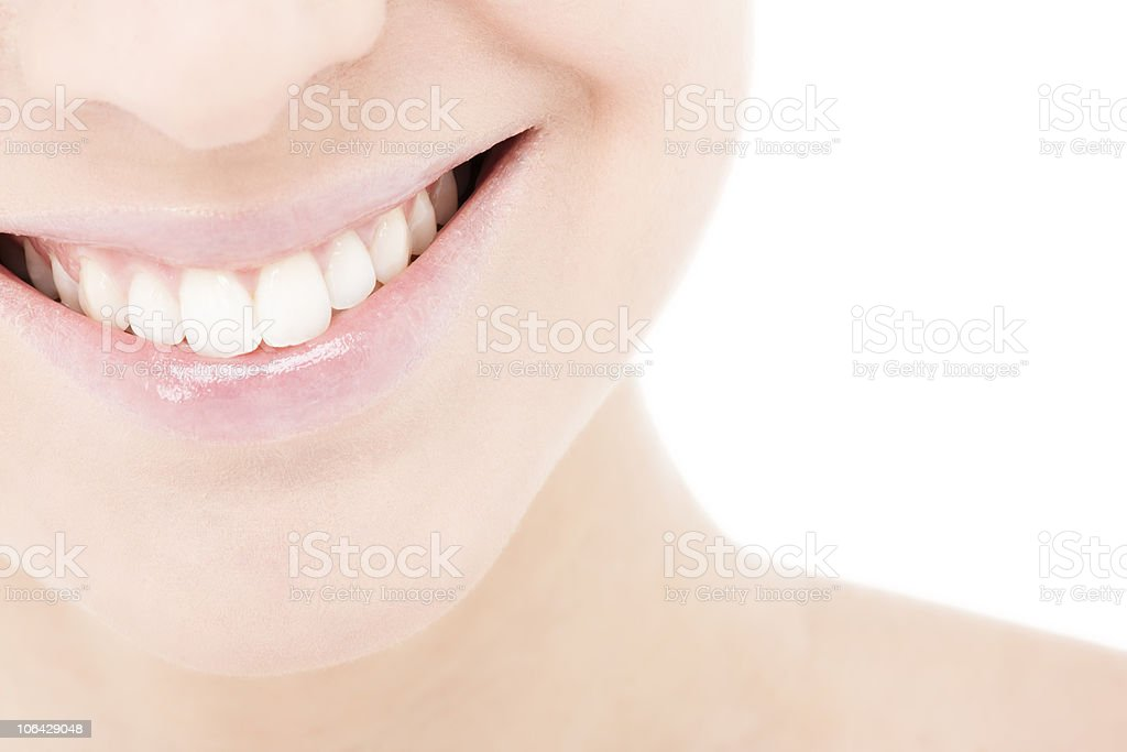 Young Woman Smile stock photo