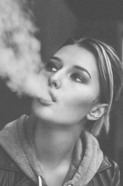 Best Smoking Girl Stock Photos Pictures Royalty Free