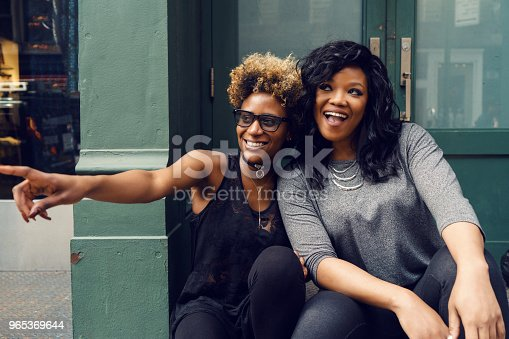 Young Woman Street Portrait New York Stock Photo & More Pictures of Adult