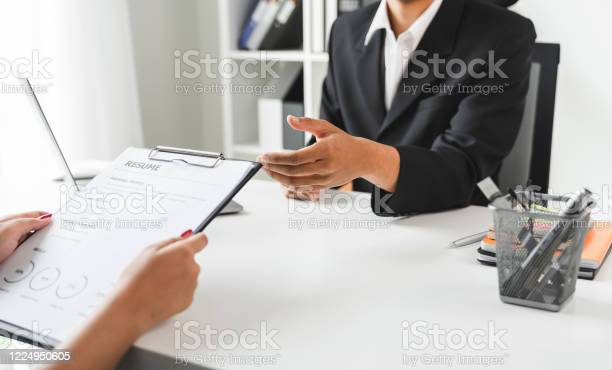 Young woman submit resume for a job interview in office quality picture id1224950605?b=1&k=6&m=1224950605&s=612x612&h=uckiywqujlgqp oq3gmc8asnxgd4f35tvogiuny yba=