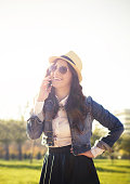 istock Young woman talking on the phone 524175427
