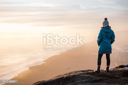 629376126istockphoto Young woman traveling solo in Iceland 1142492671