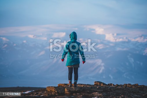 629376126istockphoto Young woman traveling solo in Iceland 1142492683