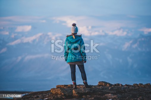 629376126istockphoto Young woman traveling solo in Iceland 1142492686