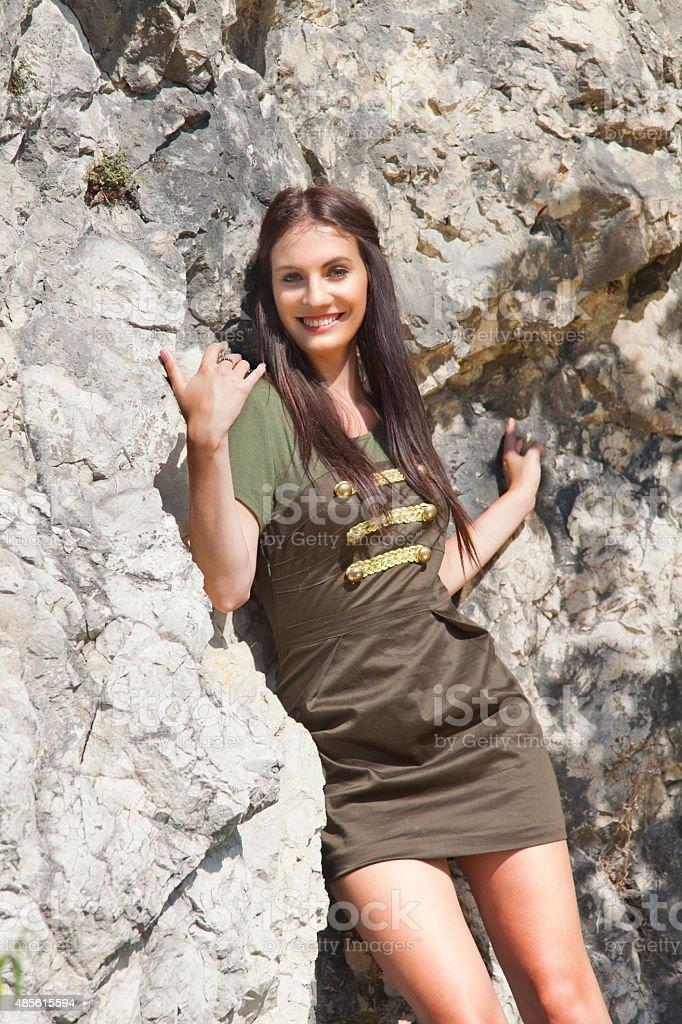 Junge Frau Unter Dem Rock Stockfoto und mehr Bilder von 20